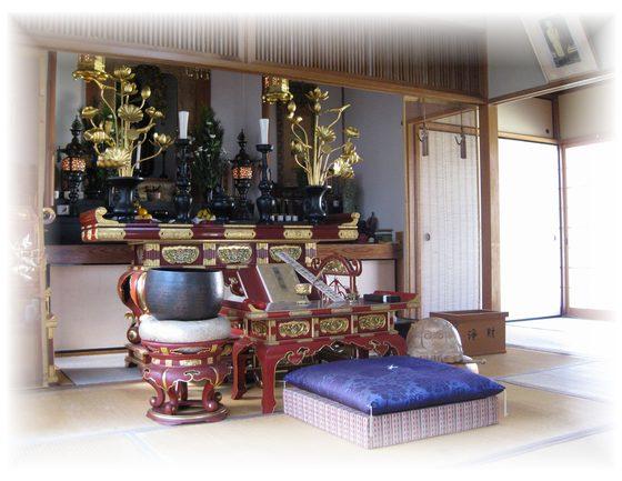 法藏院法要風景1